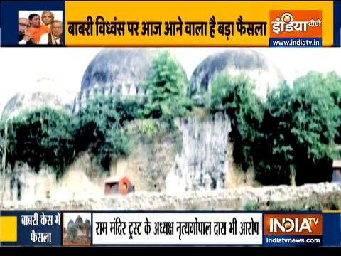 Verdict in Babri mosque demolition case today