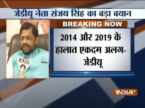 BJP cannot win 2019 polls without Nitish Kumar, says JDU leader Sanjay Singh