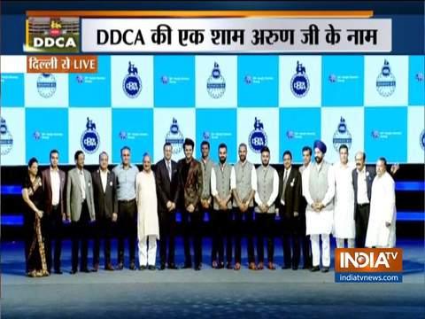 DDCA honours Delhi cricketers at gala event