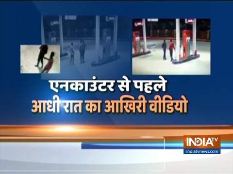पेट्रोल पंप पर CCTV में कैद हुआ हैदराबाद केस का आरोपी