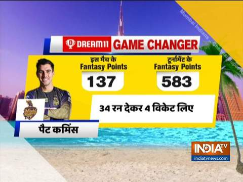 IPL 2020: Cummins, Morgan help Kolkata thrash Rajasthan by 60 runs, keep playoff hopes alive
