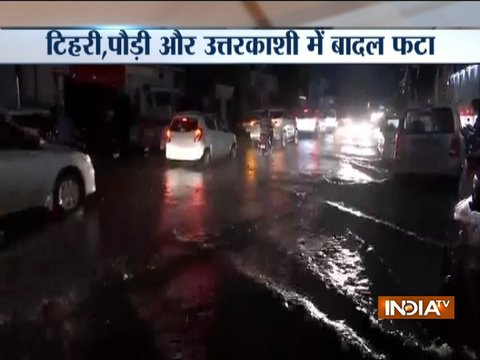 Uttarakhand: Cloudburst incidents reported from several locations