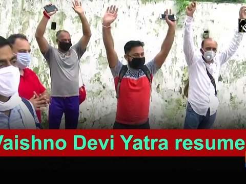 Vaishno Devi Yatra resumes
