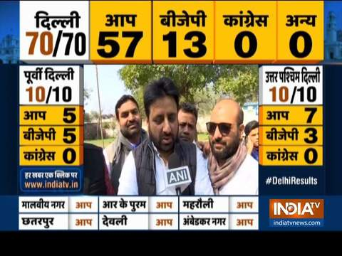 People have voted for development and work: AAP candidate Amanatullah Khan