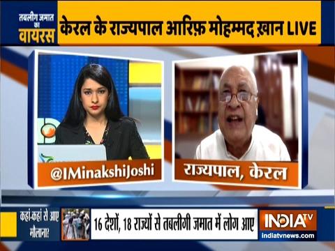 देखिये केरल के राज्यपाल आरिफ मोहम्मद खान ने मौलाना के वायरल ऑडियो टेप के बारे में क्या कहा
