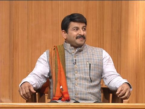 Manoj Tiwari in Aap Ki Adalat: AAP leaders are misleading Muslim youths