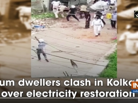 Slum dwellers clash in Kolkata over electricity restoration