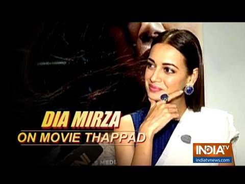 Exclusive: दीया मिर्जा से उनकी आने वाले फिल्म थप्पड़ के बारे में बातचीत