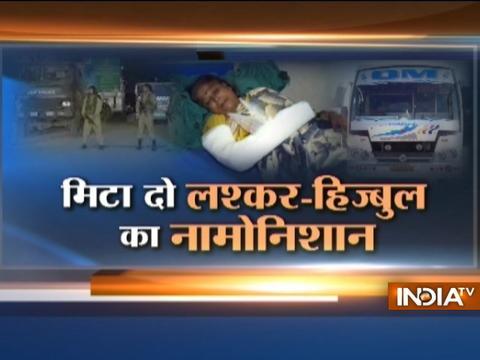 Watch India Tv mega debate on Amarnath Yatra Terror Attack