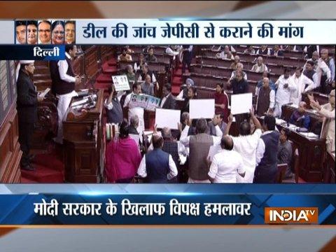 Parliament Winter Session: विपक्ष ने राज्यसभा में राफेल मुद्दे पर बहस के लिए दिया नोटिस