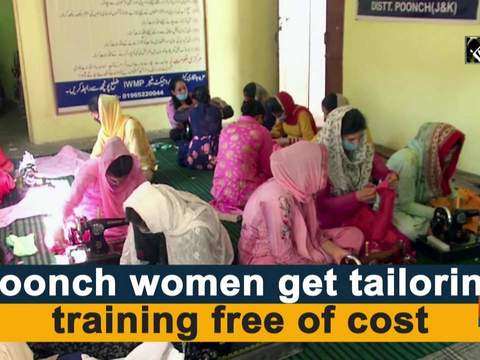 Poonch women get tailoring training free of cost