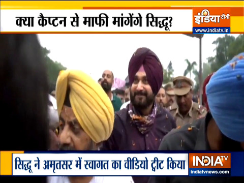 Punjab CM Amarinder Singh will not meet Sidhu till he apologises for his offensive tweets