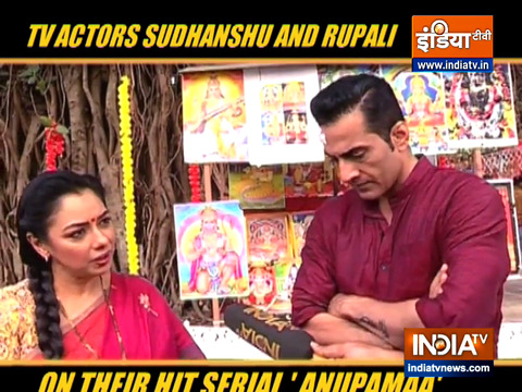 Actor Sudhanshu Panday and Rupali Ganguly opens up on the latest update in the serial 'Anupamaa'