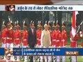 Modi in Indonesia: PM arrives at Merdeka Palace, welcomed by Indonesian President Joko Widodo