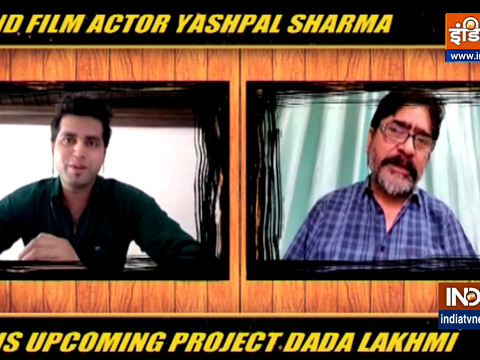 Yashpal Sharma on his upcoming project