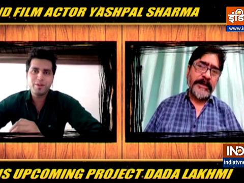 यशपाल शर्मा ने इंडिया टीवी से अपने अपकमिंग प्रोजेक्ट को लेकर की बात