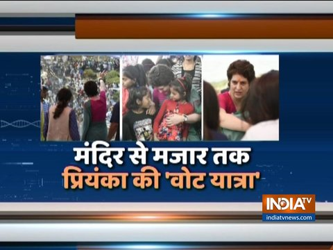 Priyanka Gandhi to offer prayers at Bhadohi's Sita Temple today