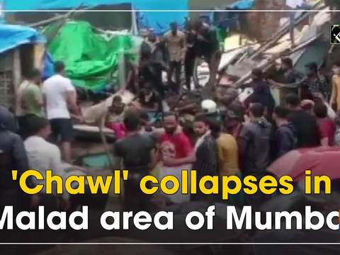 'Chawl' collapses in Malad area of Mumbai
