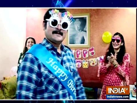 Rohitash Gour celebrates his birthday with team SBAS