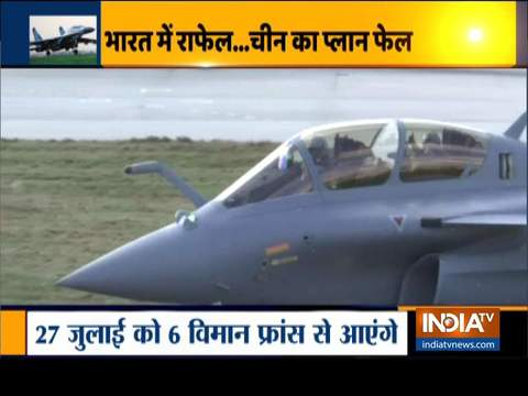 Rafale to land in India on 27 July