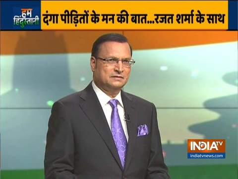 Delhi riots' victims pour their hearts out to Rajat Sharma