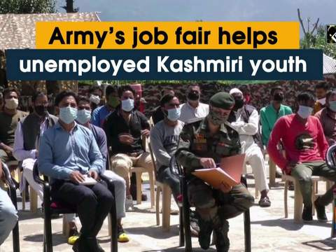 Army's job fair helps unemployed Kashmiri youth
