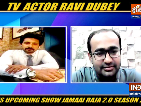 Actor Ravi Dubey on his upcoming show Jamai Raja 2