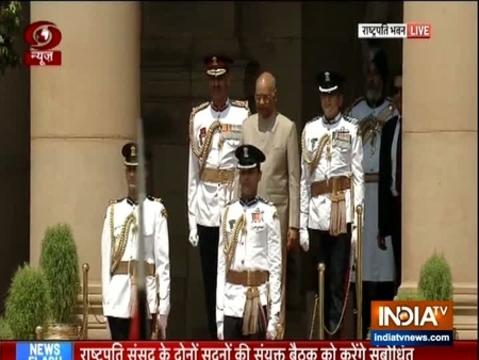 राष्ट्रपति राम नाथ कोविंद शीघ्र ही संसद के संयुक्त सत्र को संबोधित करेंगे