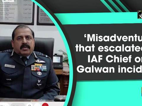 'Misadventure that escalated?': IAF Chief on Galwan incident