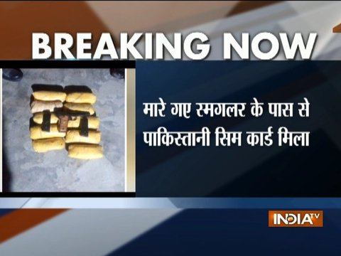 Punjab: BSF shot one Pakistani smuggler, recover 10 Kg drugs in Ferozepur sector