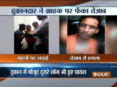 Shopkeeper attacks customer with sword, throws acid after verbal clash in Jodhpur