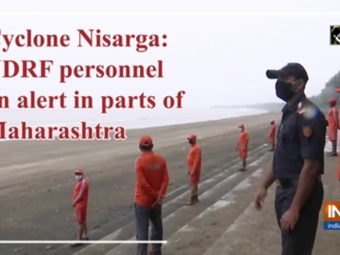 Cyclone Nisarga: NDRF personnel on alert in parts of Maharashtra