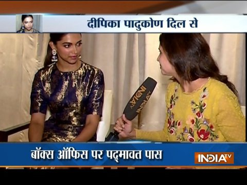 Deepika Padukone talks about Sanjay Leela Bhansali's film Padmaavat