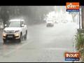 Heavy rain leads to traffic jam in parts of Delhi
