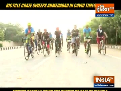 Coronavirus pandemic leads to bicyle boom in Ahmedabad