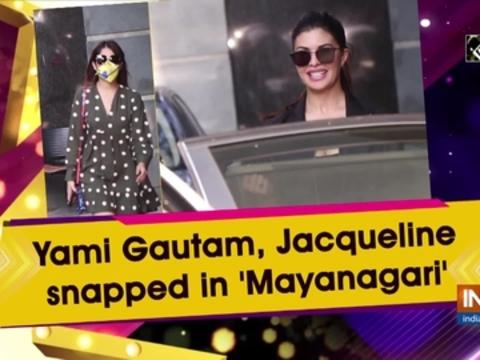 Yami Gautam, Jacqueline snapped in 'Mayanagari'