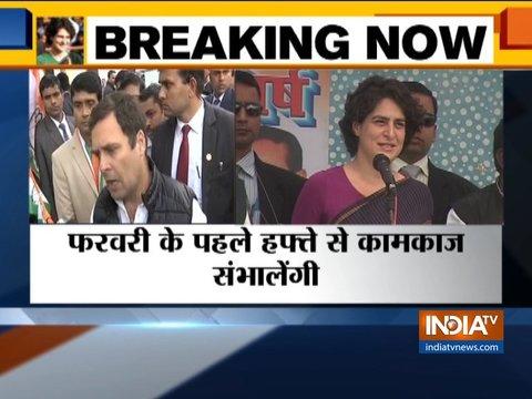 प्रियंका गांधी एक 'शक्तिशाली नेता' हैं: राहुल गांधी