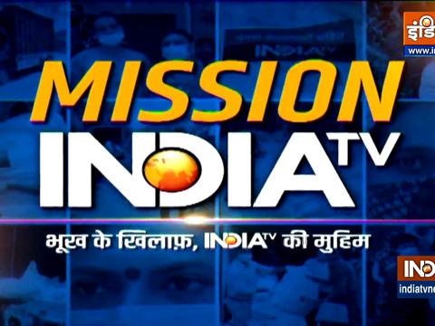 इंडिया टीवी ने कोविड लॉकडाउन से बुरी तरह प्रभावित लोगों को भोजन उपलब्ध कराया