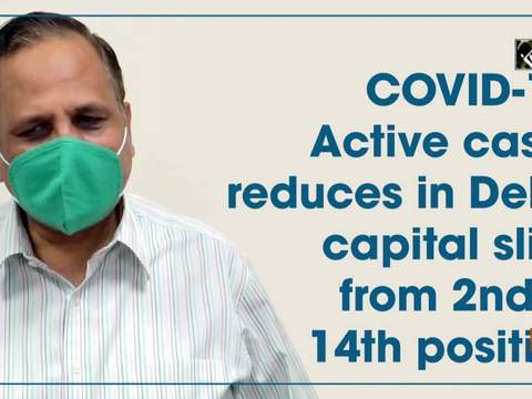 COVID-19: Active cases reduces in Delhi, capital slips from 2nd to 14th position