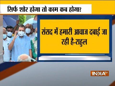 Rahul Gandhi slams Modi govt over Pegasus spyware