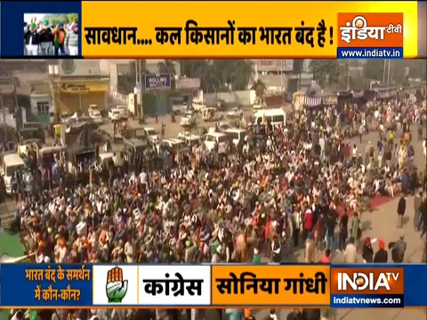 Bharat Bandh: Farmer unions call for nationwide shutdown on Dec 8. Watch how it may affect
