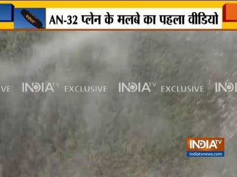 लापता AN-32 प्लेन के मलबे का पहला वीडियो सामने आया