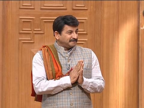 Manoj Tiwari in Aap Ki Adalat: BJP may soon declare its Delhi CM candidate
