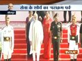 Prime Minister Narendra Modi lays wreath at Konark War Memorial in Jodhpur