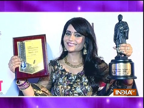 Charul Malik awarded with Dada Saheb Phalke