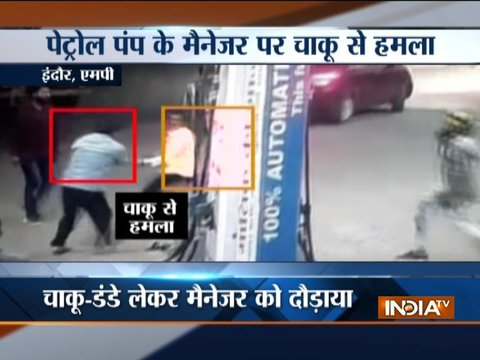Youths create ruckus at a petrol pump in Indore