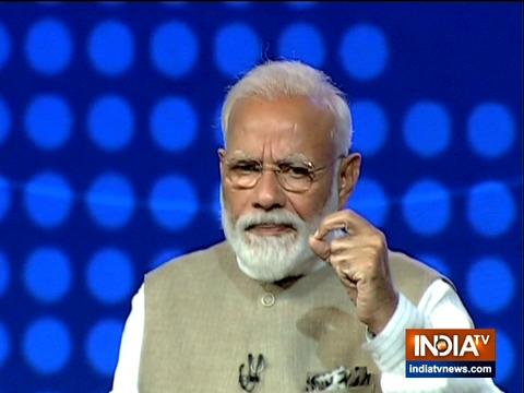 पीएम मोदी ने इंडिया टीवी के साथ एक्सक्लूसिव इंटरव्यू में मास्को की एक घटना का किया खुलासा