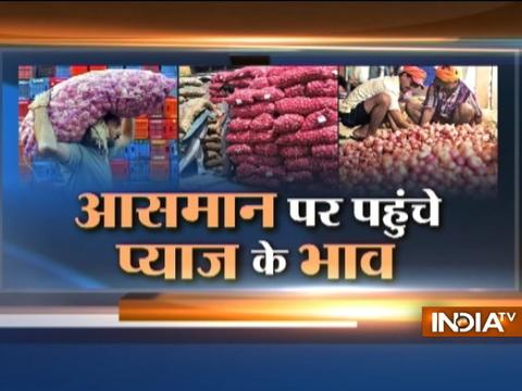 Onion prices hit Rs 50 per kg