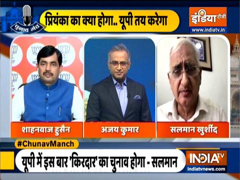 Chunav Manch | No one can force any Indian Muslim to go to Pakistan: Shahnawaz Hussain