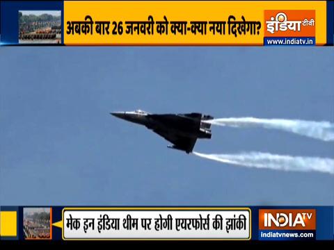 पहली बार गणतंत्र दिवस परेड में शामिल होगा राफेल विमान